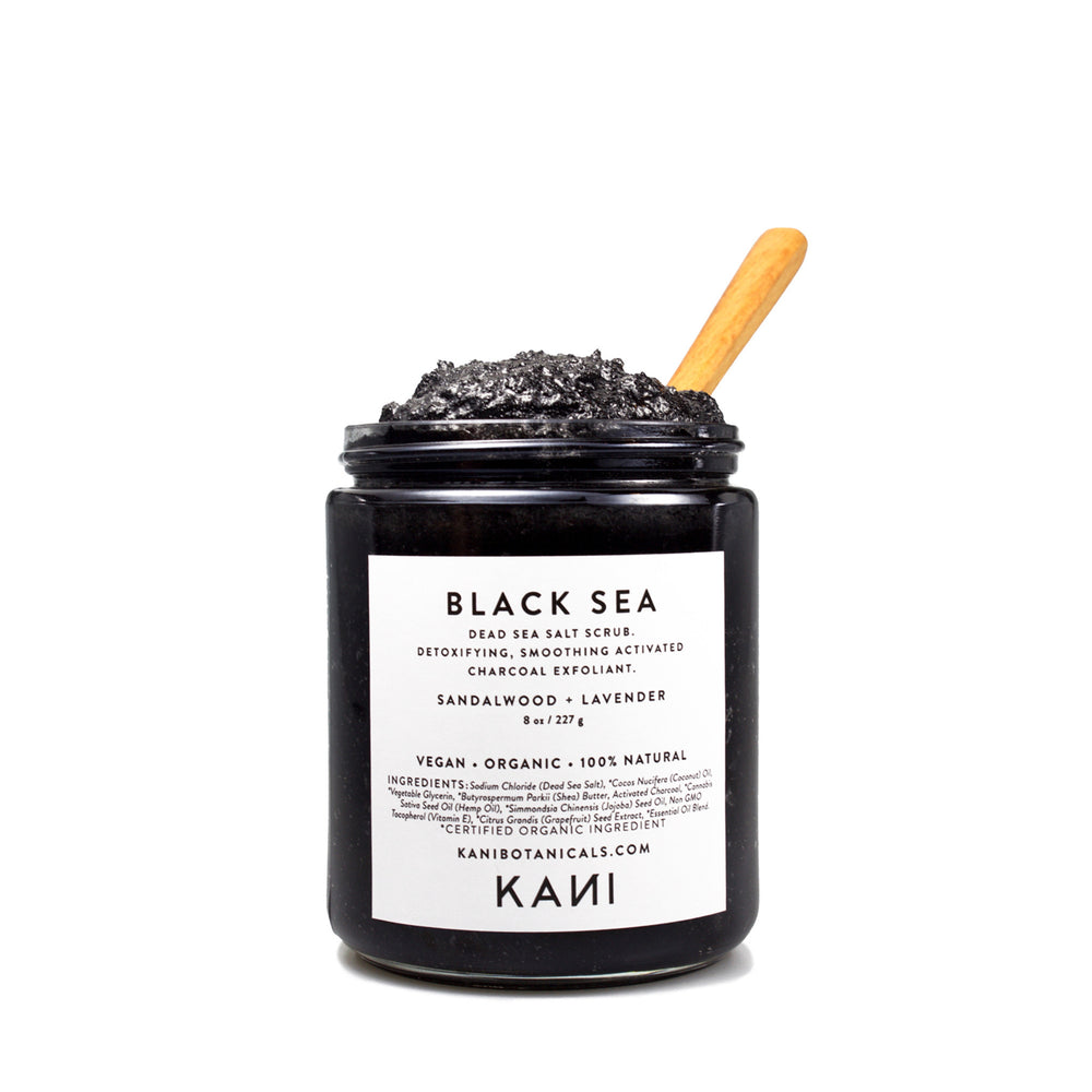 Black Sea Charcoal Body Polish