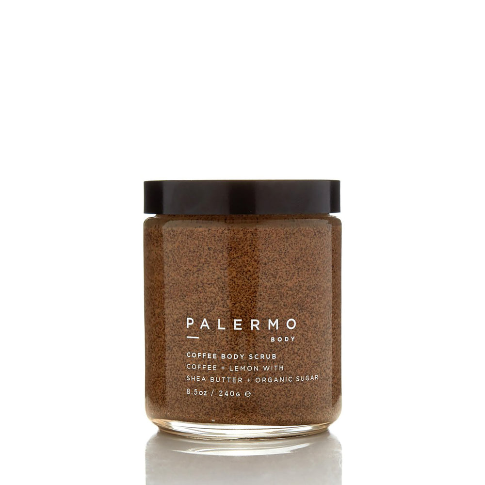 Coffee Body Scrub - Coffee + Lemon