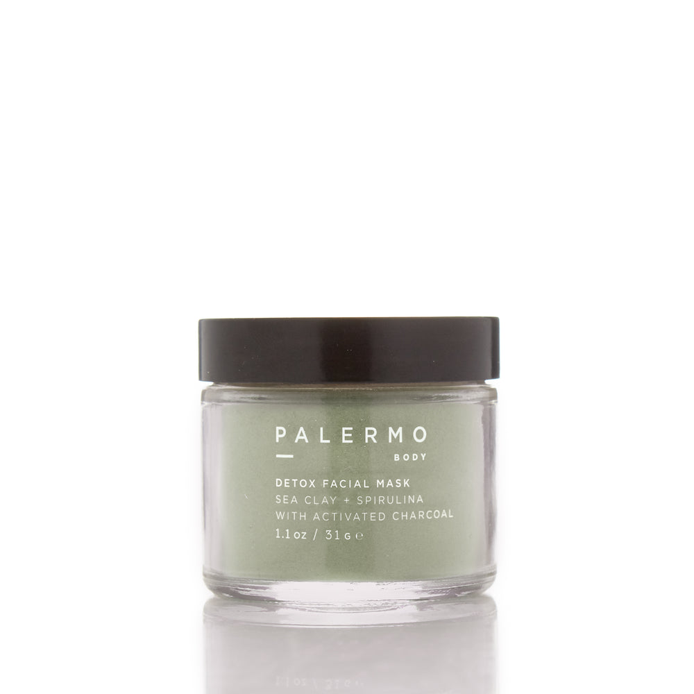 Detox Facial Mask - Sea Clay + Spirulina