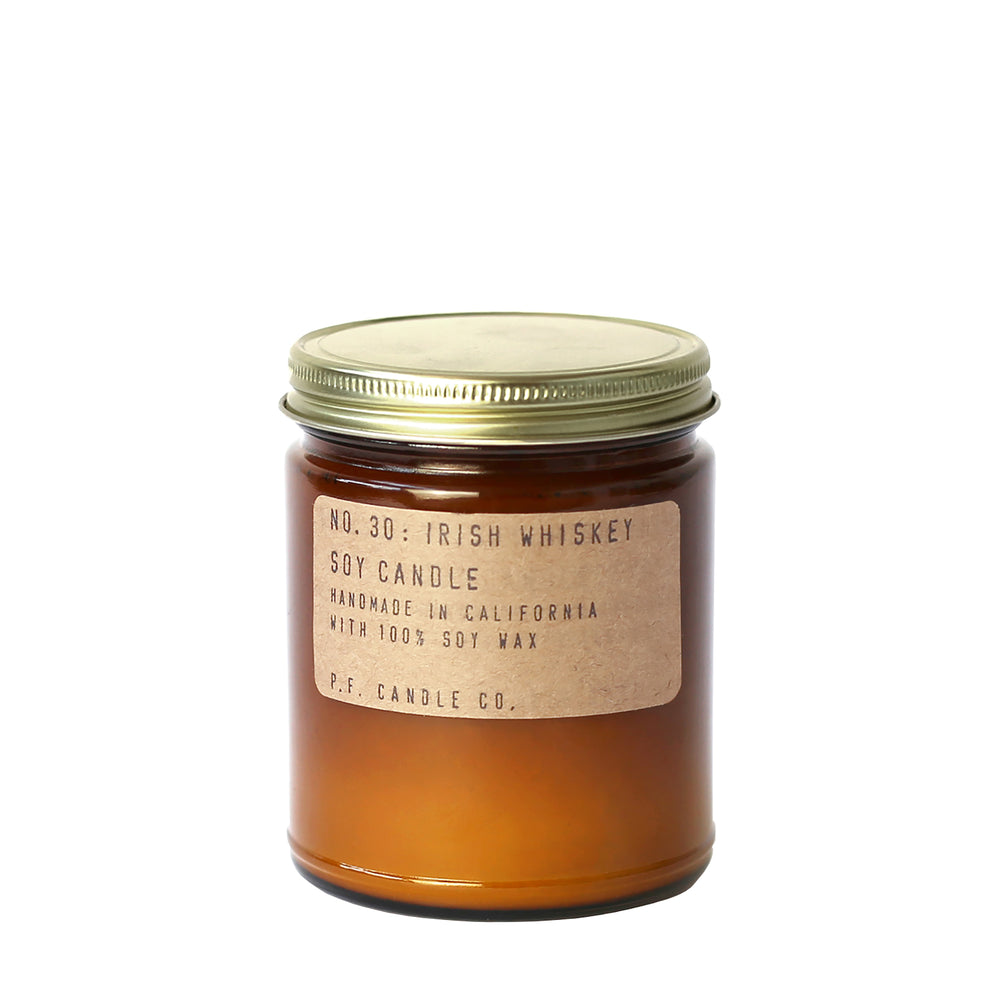 No. 30: Irish Whiskey Candle