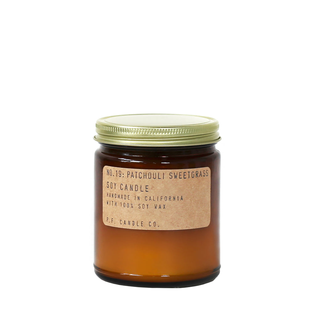 No. 19: Patchouli Sweetgrass Candle