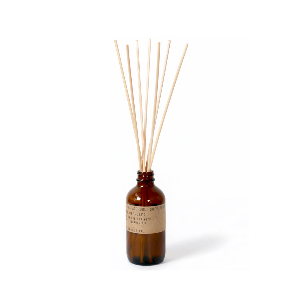No. 19: Patchouli Sweetgrass Diffuser