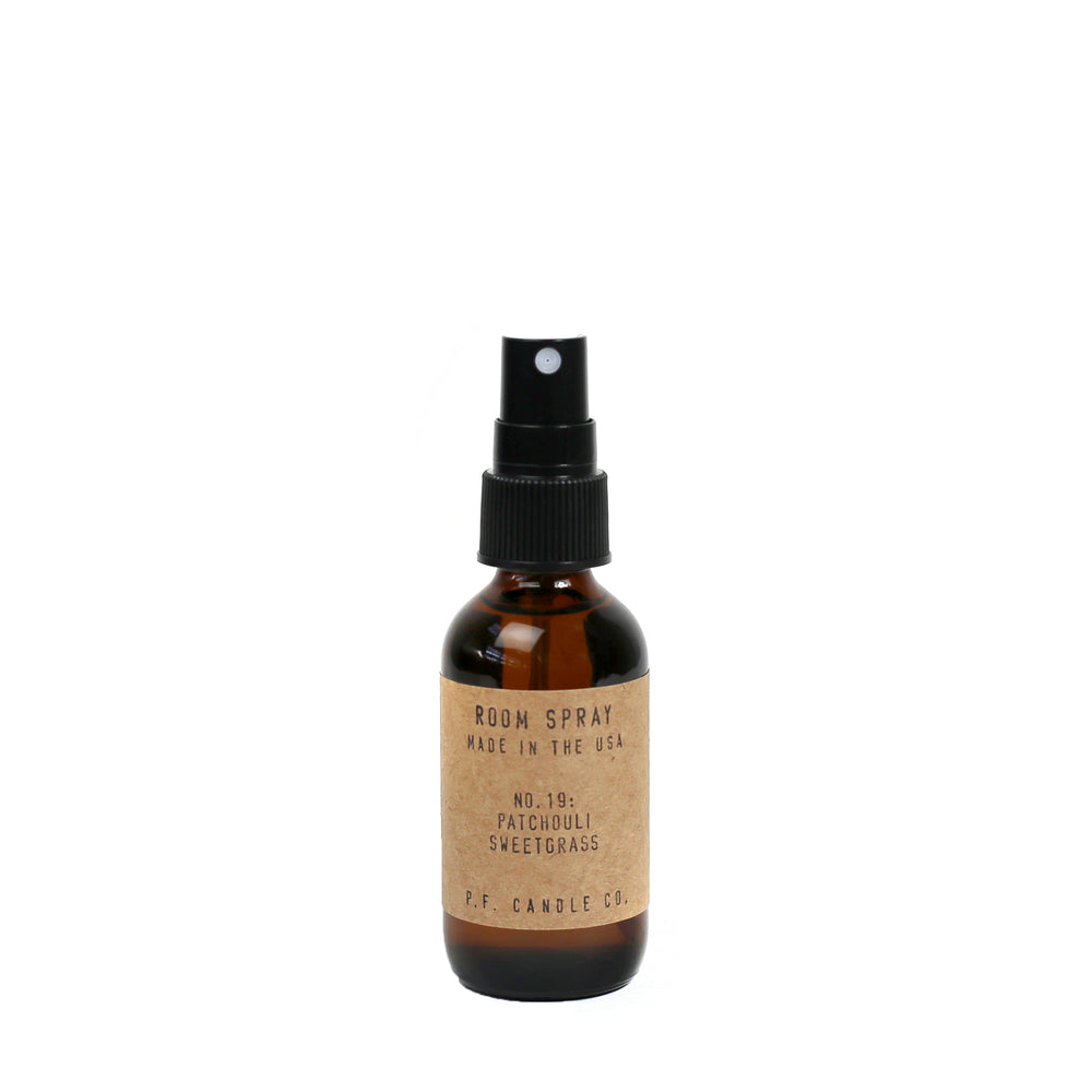 No. 19: Patchouli Sweetgrass Room Spray