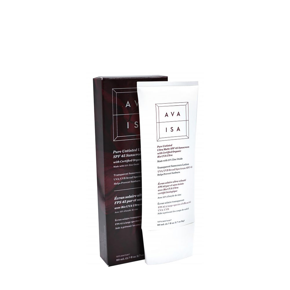 Ava Isa Pure Untinted SPF 45