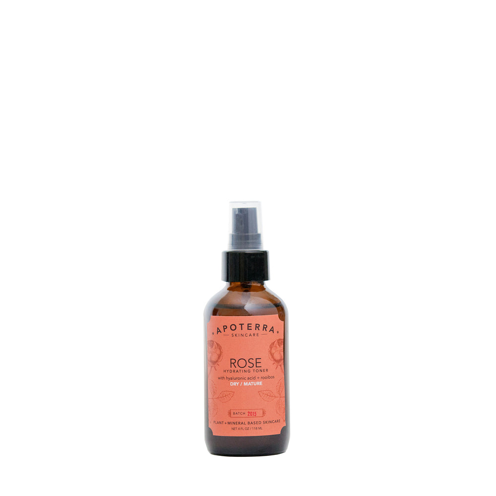 Rose Hydrating Toner with Hyaluronic Acid + Rooibos