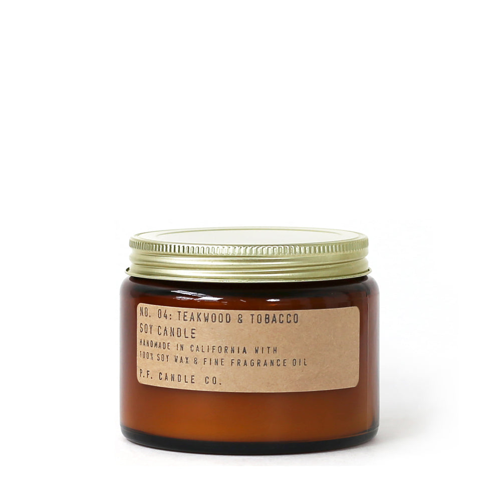 No. 04: Teakwood & Tobacco Candle