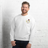 Men's embroidered Sweatshirt with Z3eem logo (زعيم) - Shaggaggy