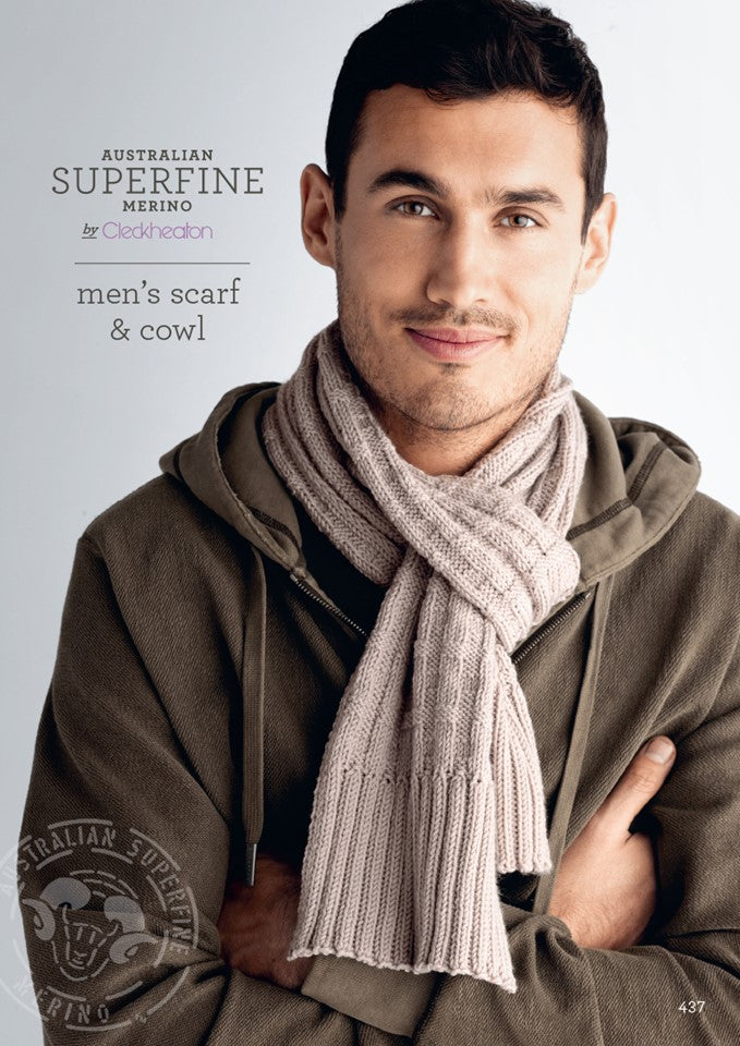 Cleckheaton Men's Scarf and Cowl