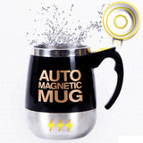 High-end stainless steel automatic stirring Spin mug for Coffee / Juice / Milk - Molo Mart