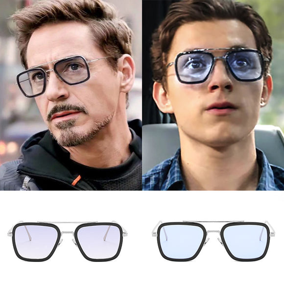 Avengers Tony Stark Style Luxury Sunglasses For Men/Womens - Molo Mart