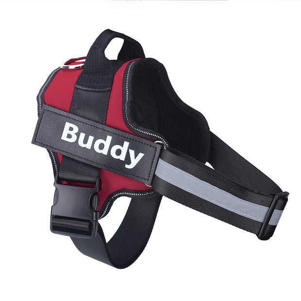 Personalized Adjustable Dog Harness