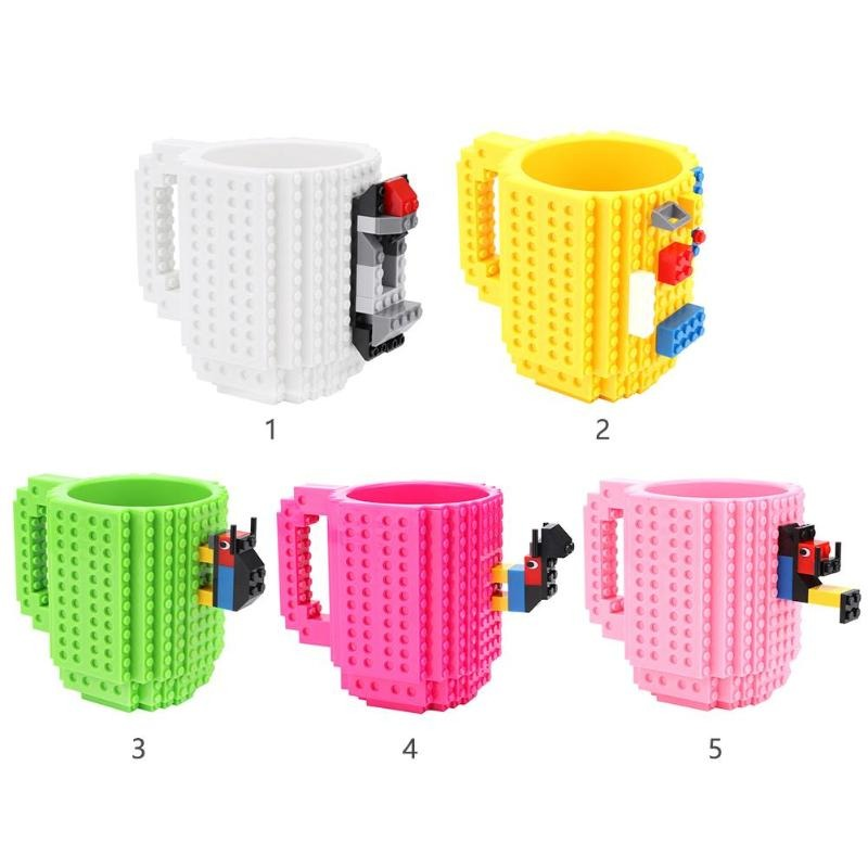 Building Blocks Milk Cup  ( Best Gifts )