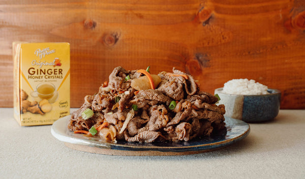 Korean Ginger Honey Beef (Bulgogi)