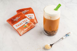 Boba Thai Tea with Sea Salt Cream Recipe