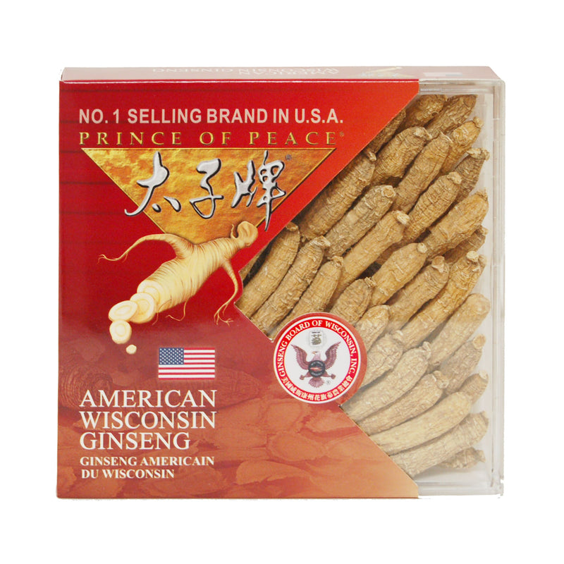 Prince of Peace Wisconsin American Ginseng Small Medium Roots, 2.5 oz