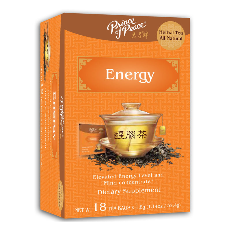 Prince of Peace Energy Tea, 18 tea bags