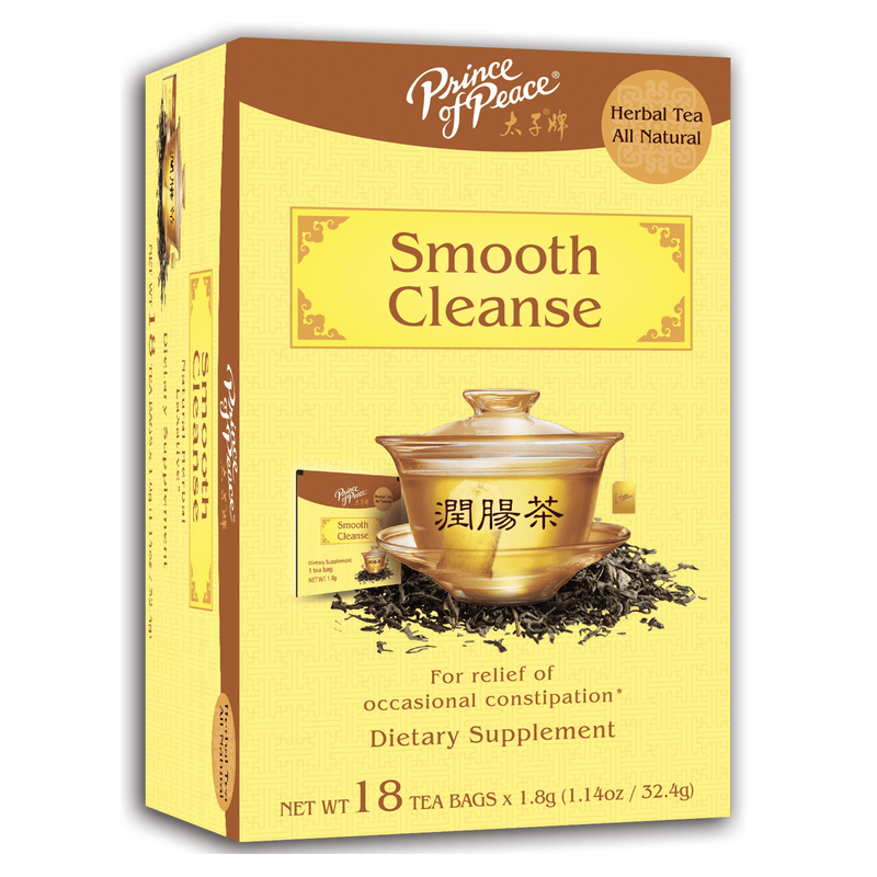 Prince of Peace Smooth Cleanse Tea, 18 tea bags
