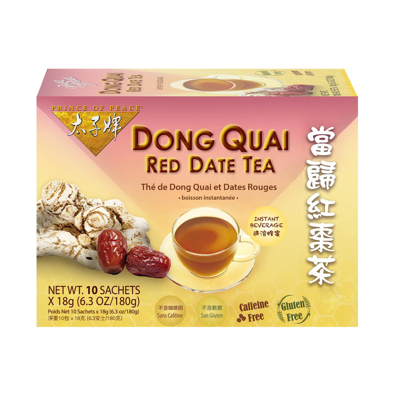 Prince of Peace Dong Quai & Red Date Tea, 10 sachets