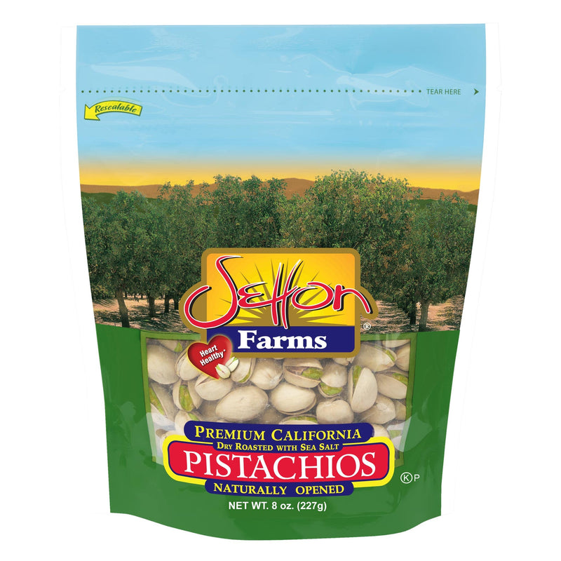 Setton Farms Pistachios - Roasted Salted, 8oz