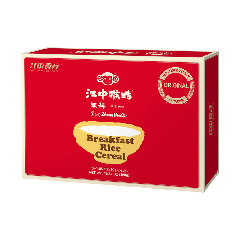 Jiangzhong Hougu Breakfast Rice Cereal (Original), 15 sachets
