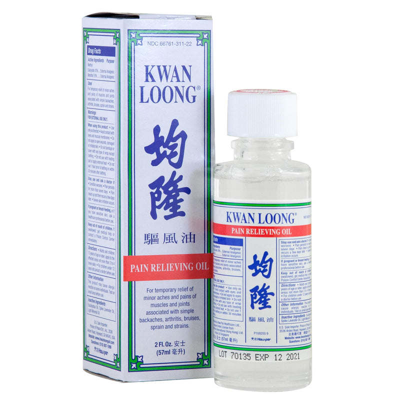 Kwan Loong Pain Relieving Oil, 2 oz