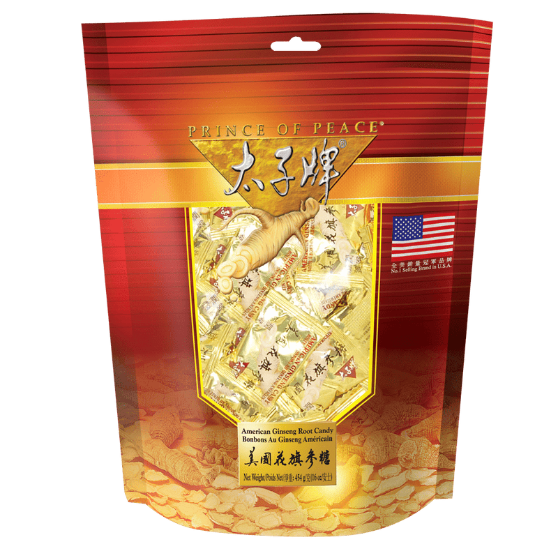 Prince of Peace American Ginseng Root Candy, 16oz
