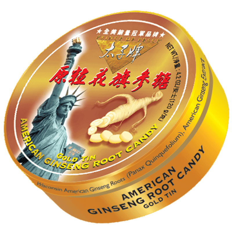Prince of Peace American Ginseng Root Candy- Statue of Liberty, 120g