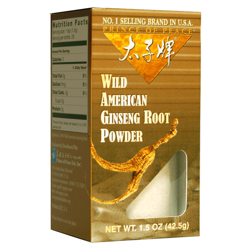 Prince of Peace Wild American Ginseng Powder, 1.5oz