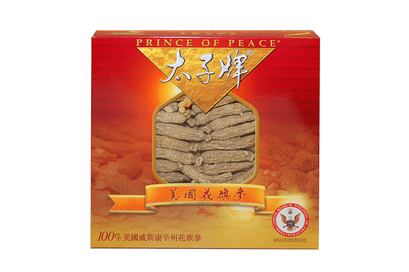 Prince of Peace Wisconsin American Ginseng Small Short Roots, 3 oz