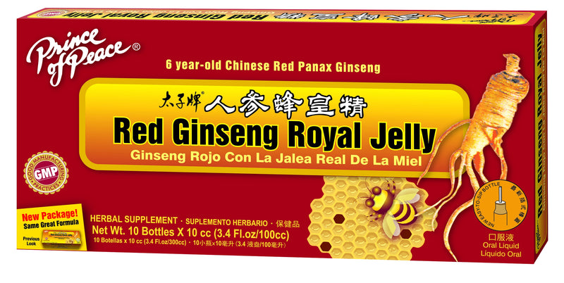 Prince of Peace Red Ginseng Royal Jelly, 10x10cc