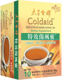 Prince Gold Coldaid - Concentrated Herbal Extract Tea, 10 sachets