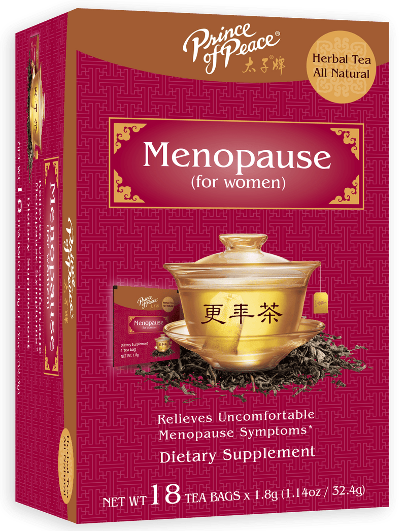 Prince of Peace Menopause Tea, 18 tea bags