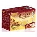 Prince of Peace Instant American Ginseng Ginger Honey Crystals, 10 sachets