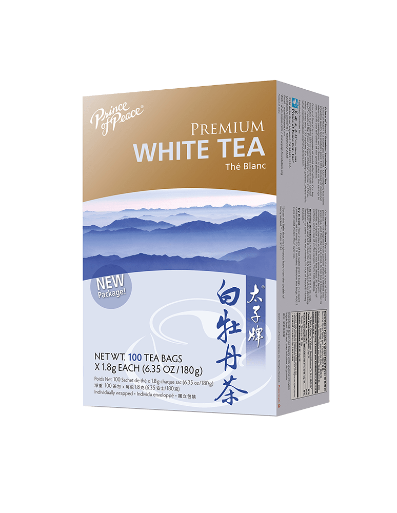 Prince of Peace Premium White Tea, 100 tea bags
