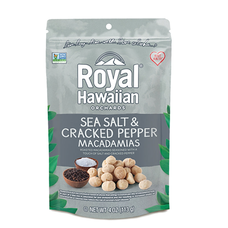 Royal Hawaiian Orchards Macadamia Nuts - Sea Salt & Pepper, 4oz