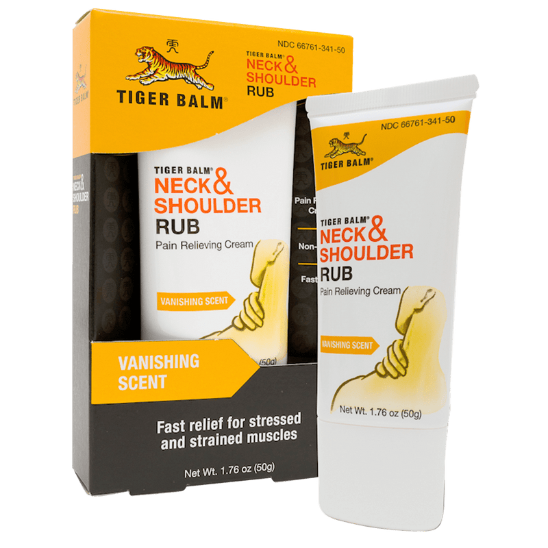 Tiger Balm Neck & Shoulder Rub, 50g
