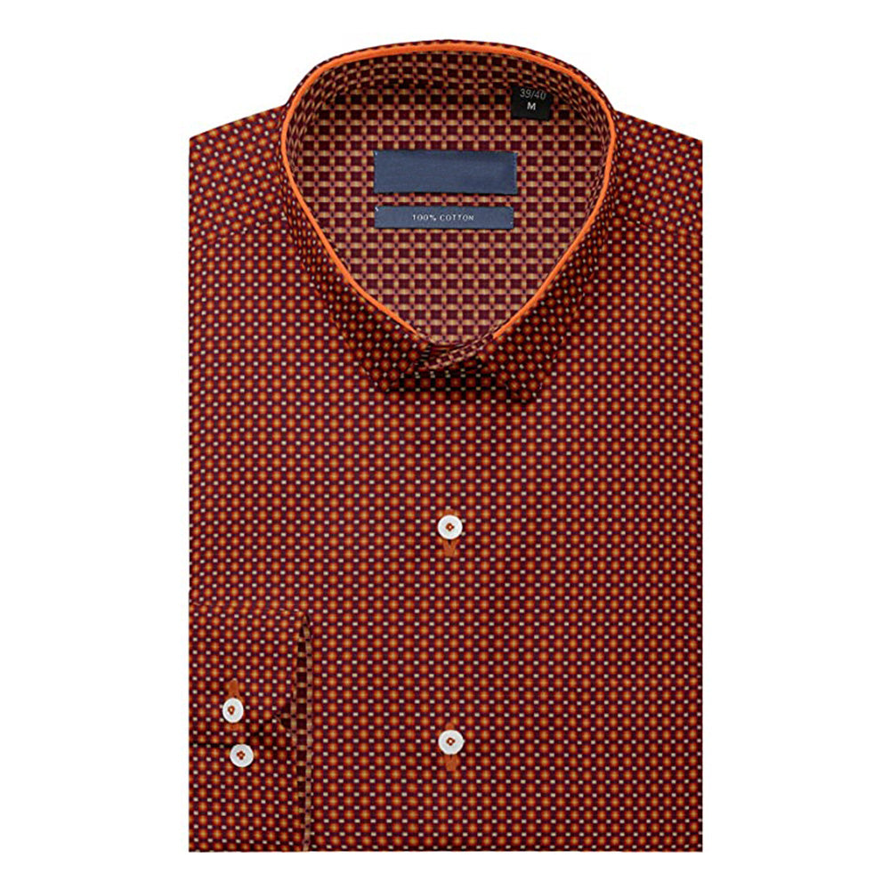 Maroon Full Sleeves Formal Shirt!