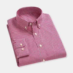 Best Men's Small Checkered Shirt Combo of 3