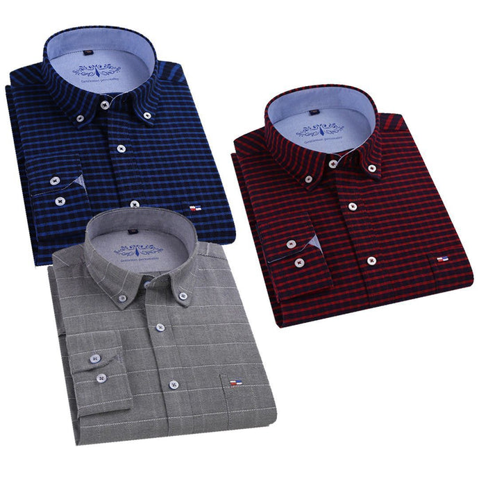 Combo Of 3 Checkered Style Shirts For Men