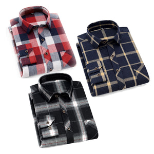 Men Classic Slim Fit Printed Formal Shirt