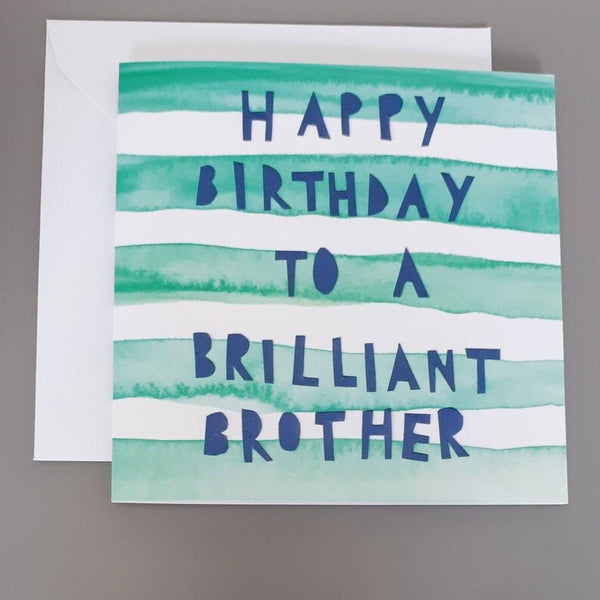 Brilliant Brother Card