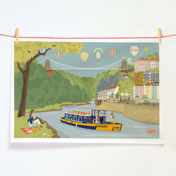 Avon Gorge Tea Towel