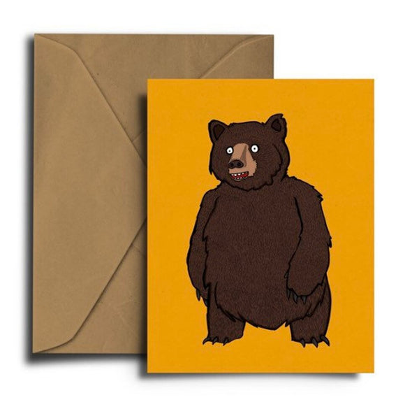 Brown Bear Card