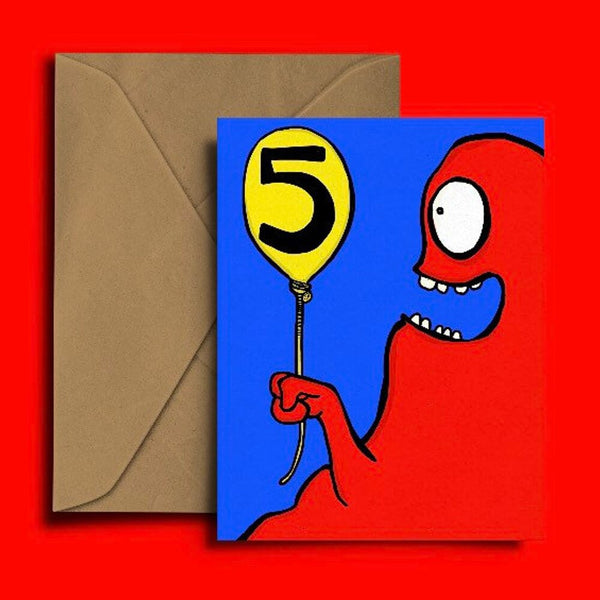 Fifth Birthday Card