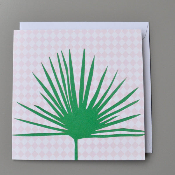 Fan Palm Card