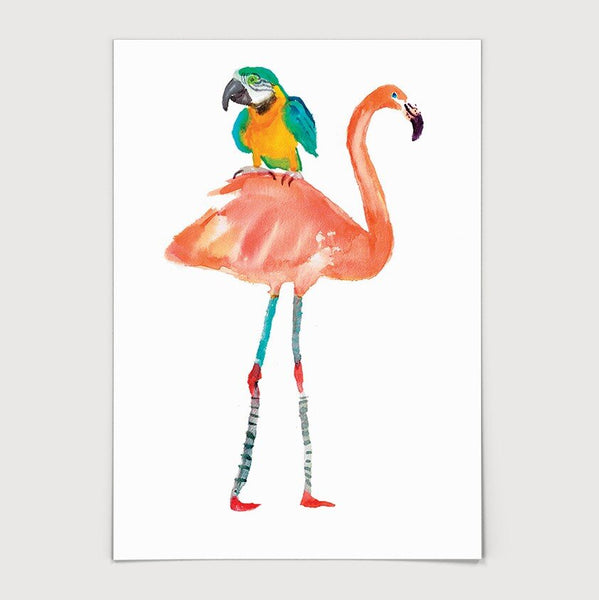 Feathered Friends Print
