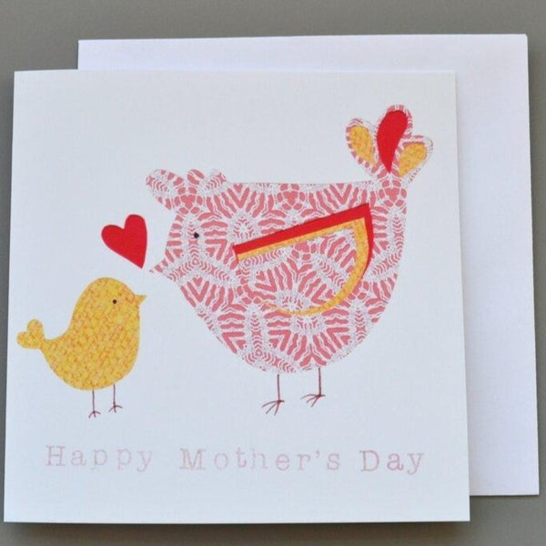Hen and Chick Mother's Day Card
