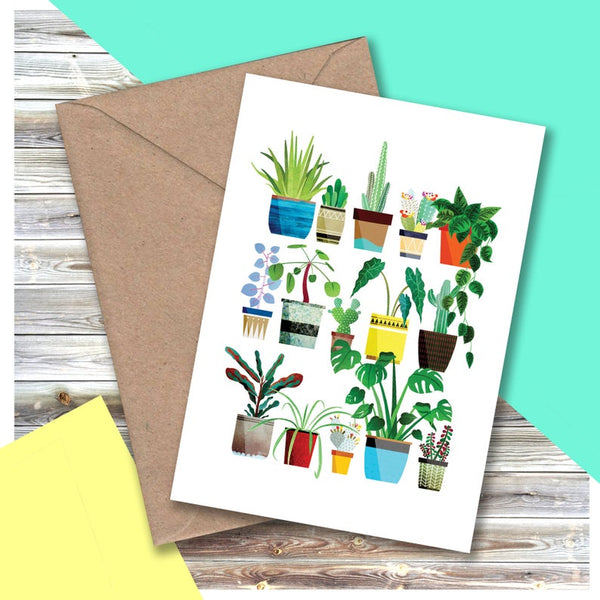 House Plants Card