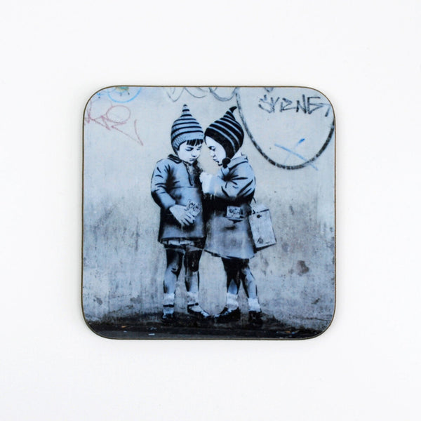 "JPS Street Art ""The Big Deal"" Coaster by Eclectic Gift Shop"