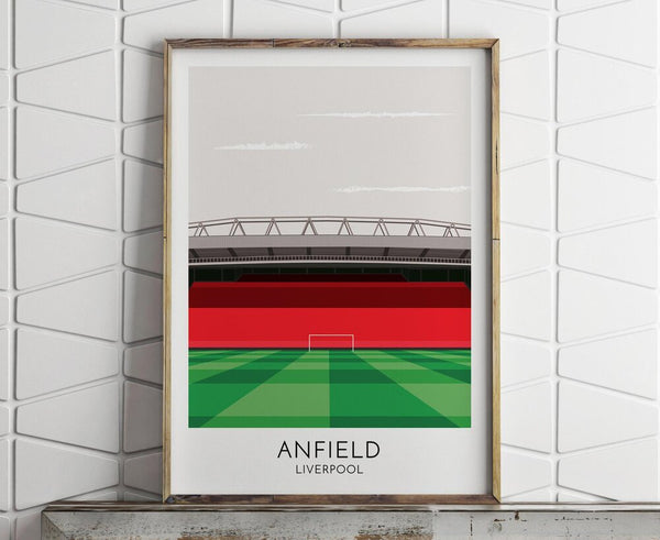 Liverpool FC Anfield Print